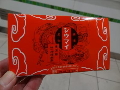 月例登山報告/箱根明神ヶ岳・その1.崎陽軒シウマイを買って箱根強羅温泉に宿泊。