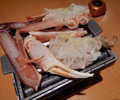 カニ食べ行こう!2021。ー皆生温泉で隠岐産タグ付き松葉蟹―