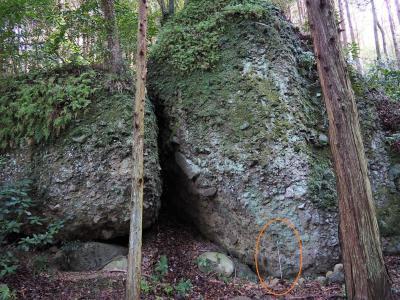 炭治郎が切った岩は、沼津にもあった。