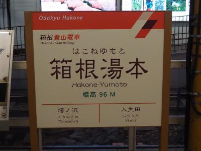 GO TOトラベル第3弾!再び箱根旅