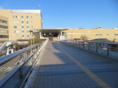 長野駅周辺と宿泊したコンフォートホテル長野