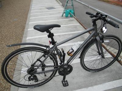 クロスバイク 初ショートライド 京都さんぽ2021