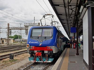 南ドイツ・北イタリア鉄道の旅(その8 ヴェローナ散策後、イタリア鉄…