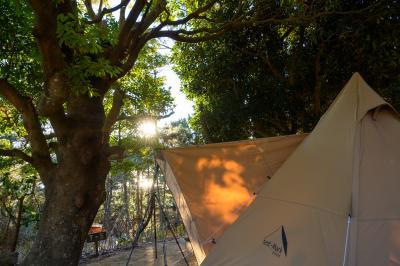 2021年キャンプ始め、大洗サンビーチキャンプ場。