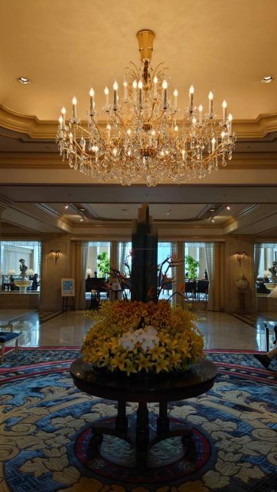 リーガロイヤルホテル東京、気分転換のお篭りステイ