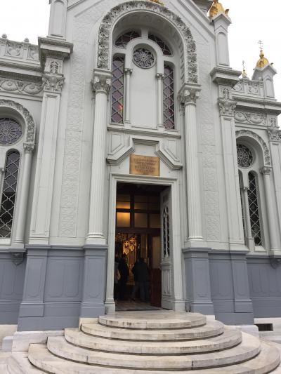 お正月はブルガリア正教会へ