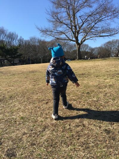 孫と公園に行って来ました!