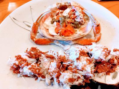 11月は息子と3人旅(1)金沢で香箱蟹と寿しランチ&ルミュゼドゥアッシュのケーキ