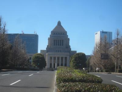 人がいない!! 霞が関・永田町をお散歩しました