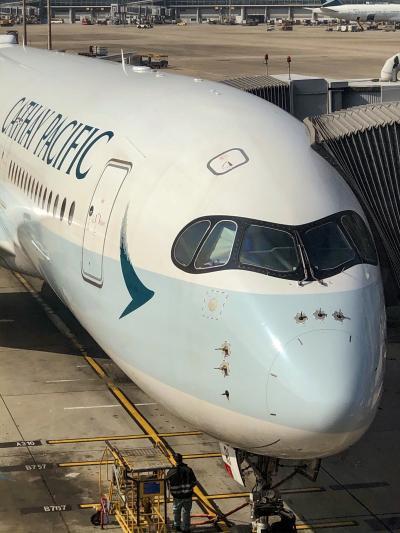 2020年リベンジ香港(を経由して)シンガポールへ (キャセイに乗って香港そして日本に帰ります)
