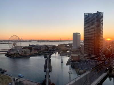☆ステキな夜景☆横浜へ.。o○ホテルの窓から綺麗な朝陽で元気を頂き~\(^o^)/  後編