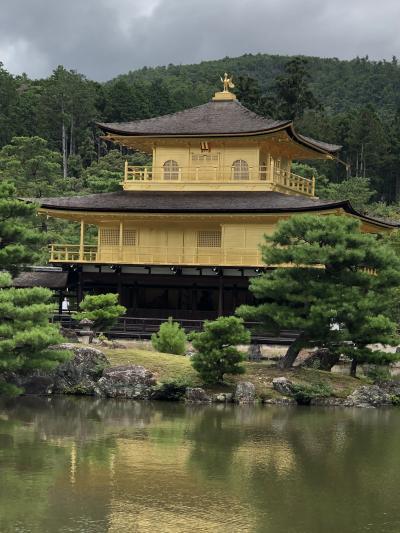 京都の奥座敷・亀岡湯の花温泉へ。+嵯峨野トロッコ列車と金閣寺