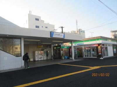 流山市の江戸川台・東武鉄道・流山百か所めぐり(12)・江戸川台駅