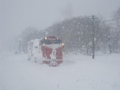 2021冬・年始の北海道旅行(パート2:無念!幌延にて運転打ち切り…。)