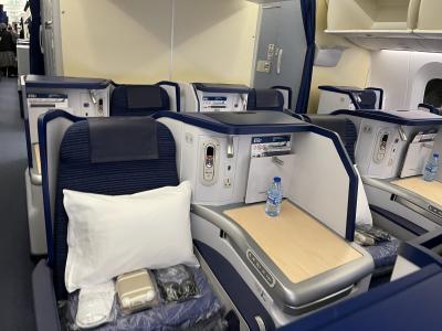 コロナ過でも激混み!羽田国際線 ANA Suite LoungeとHND/FRAビジネスクラス搭乗記オーロラ付き!
