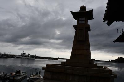 鞆の浦と福山城