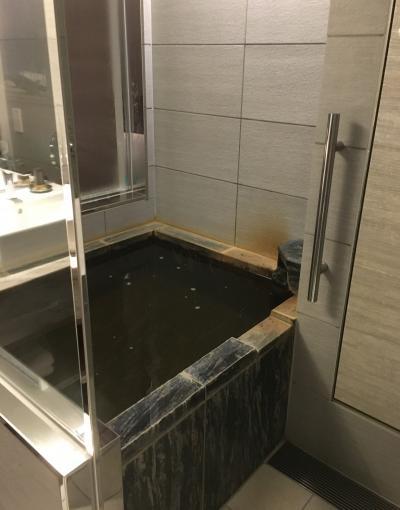 琵琶湖マリオットホテルで温泉