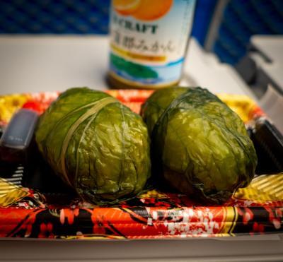 伊勢旅04: 帰りの電車でお食事の用意が整いました~をやりたくて