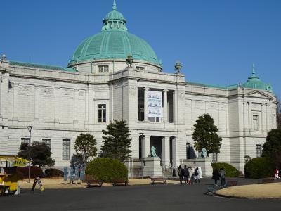 2月の散歩1東京国立博物館