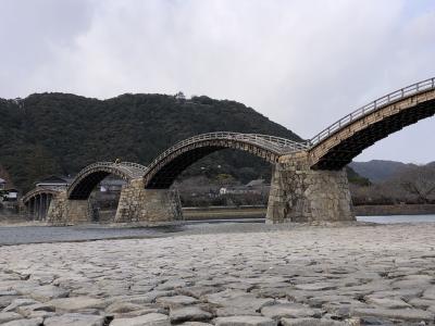 世界遺産登録を目指している日本三大橋のひとつ、錦帯橋の絶景を堪能