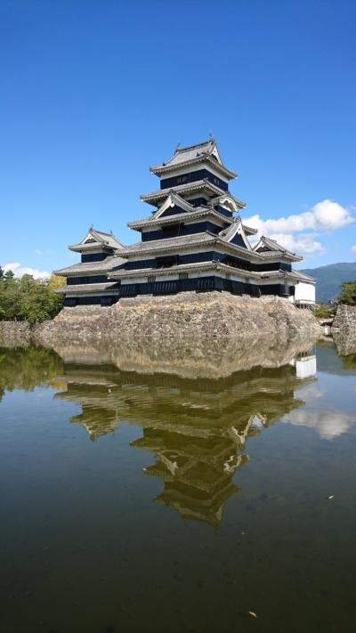 名水の城下町、松本を行く。水がおいしいと何でもおいしい。