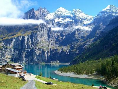 21.スイス鉄道の旅 (記録)14日目 :カンデルシュテーク村~『エッシネン湖』をハイキング