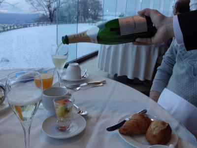 Go toで団体ツアーに初参加「Sランクホテルに宿泊するフルムーン北海道」④ウインザーホテル洞爺