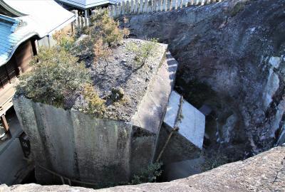 シーボルトも訪れた石の宝殿生石神社と一願成就の鹿島神社参拝