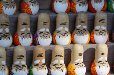 20210210-2 京都 赤山禅院へ。修学院離宮の後やし、なんだか鄙びた感じ。