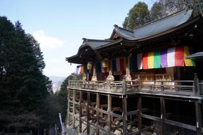 20210210-4 京都 坂道登って、250段の階段登って、狸谷山不動院