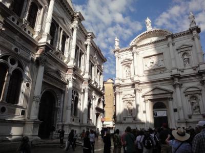 初めてのベネチア その14 (イタリア・スペイン・ポルトガル・オランダ 12日間の旅 その2-14)1549年完成、サン・ロッコ大信徒会!