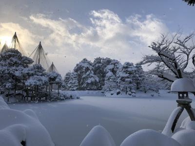 2021年1月 《北陸新幹線で行く》雪の金沢