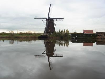 オランダの風車ーキンデルダイク―(2013年11月)