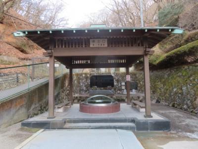 伊香保温泉の伊香保神社から飲泉所・湯元源泉地まで歩く