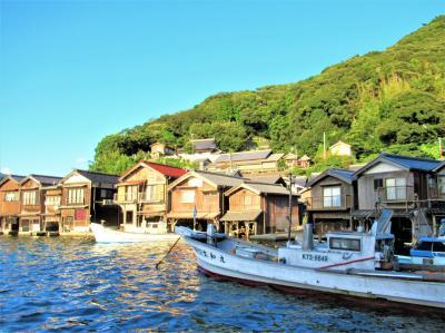 伊根の舟屋めぐりは大型船もいいけれど、断然おすすめ 海上タクシー「亀島丸」で