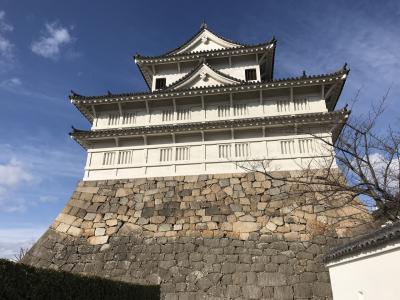 広島県の城跡巡り:福山城跡、国の重要文化財の伏見櫓と筋鉄御門が現存