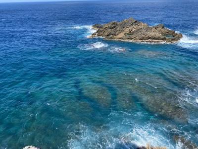 初の沖永良部島上陸。乗り継ぎを利用して霧島観光も満喫。