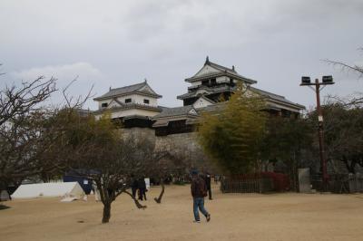 20年ぶりの愛媛!城廻りと散策の旅-3日目前半