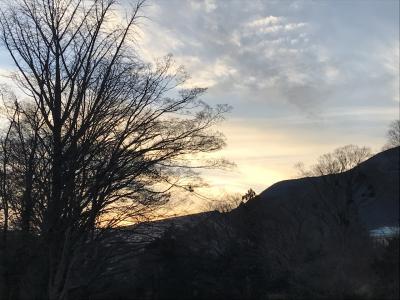 箱根翡翠にお籠り滞在の2月