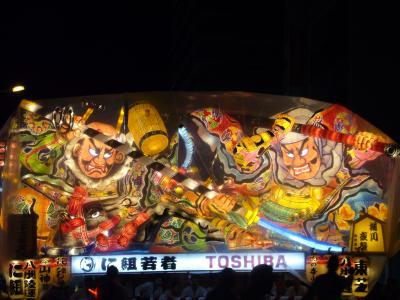 一度は見たい「ねぶた祭」と「田んぼアート」の旅