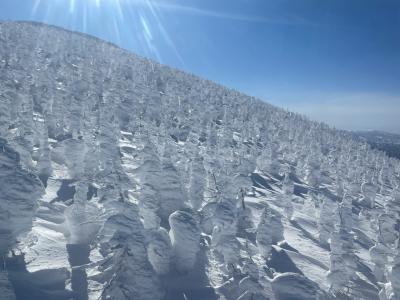 2021年 山形新幹線で行く蔵王温泉スキー場と銀山温泉