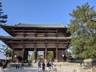 おのぼりさん 奈良を往く♪ 1日目の2 東大寺