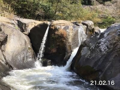 椅山滝(うるしやま)を見に行ってみた