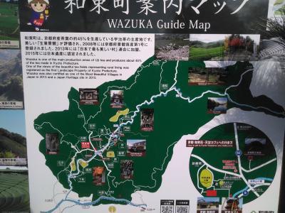 奈良でいちごを買って、和束町でお茶を飲む。