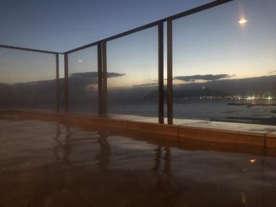 函館、湯の川温泉イマジンホテル&リゾートに宿泊冬の1人旅、ワカサギ釣りスノーシューも満喫。 1日目