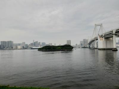 レインボウブリッジ、東京ゲートブリッジお散歩報告