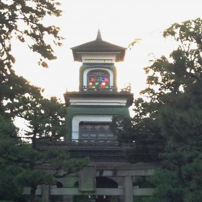 金沢市内を 一日 駆け足で観光