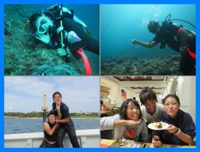 沖縄2014秋(7)楽しいダイビングとアリビラ・ハナハナカジュアルブッフェ&アリビラダンシング