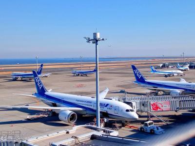 羽田空港ターミナル巡り