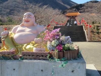 台湾寺院の「臨済宗日本佛光山法水寺(渋川・伊香保)」に行き参拝と散策をしました